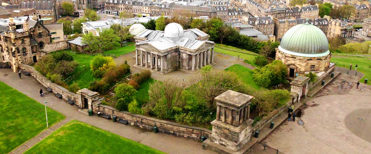City Observatory at Calton Hill, Edinburgh